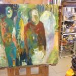 Mai-Britt Schultz ART&JAZZ 17.november 2013 Kragekær Kunstskole
