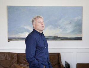 Mai-Britt Schultz Øhavs himmel med Uffe Elbæk