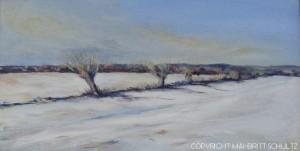Kopi af Vinterlandskab - Mai-Britt Schultz - LILLE