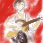 Mai-Britt Schultz - Koncert med Solo para oy på Ipad