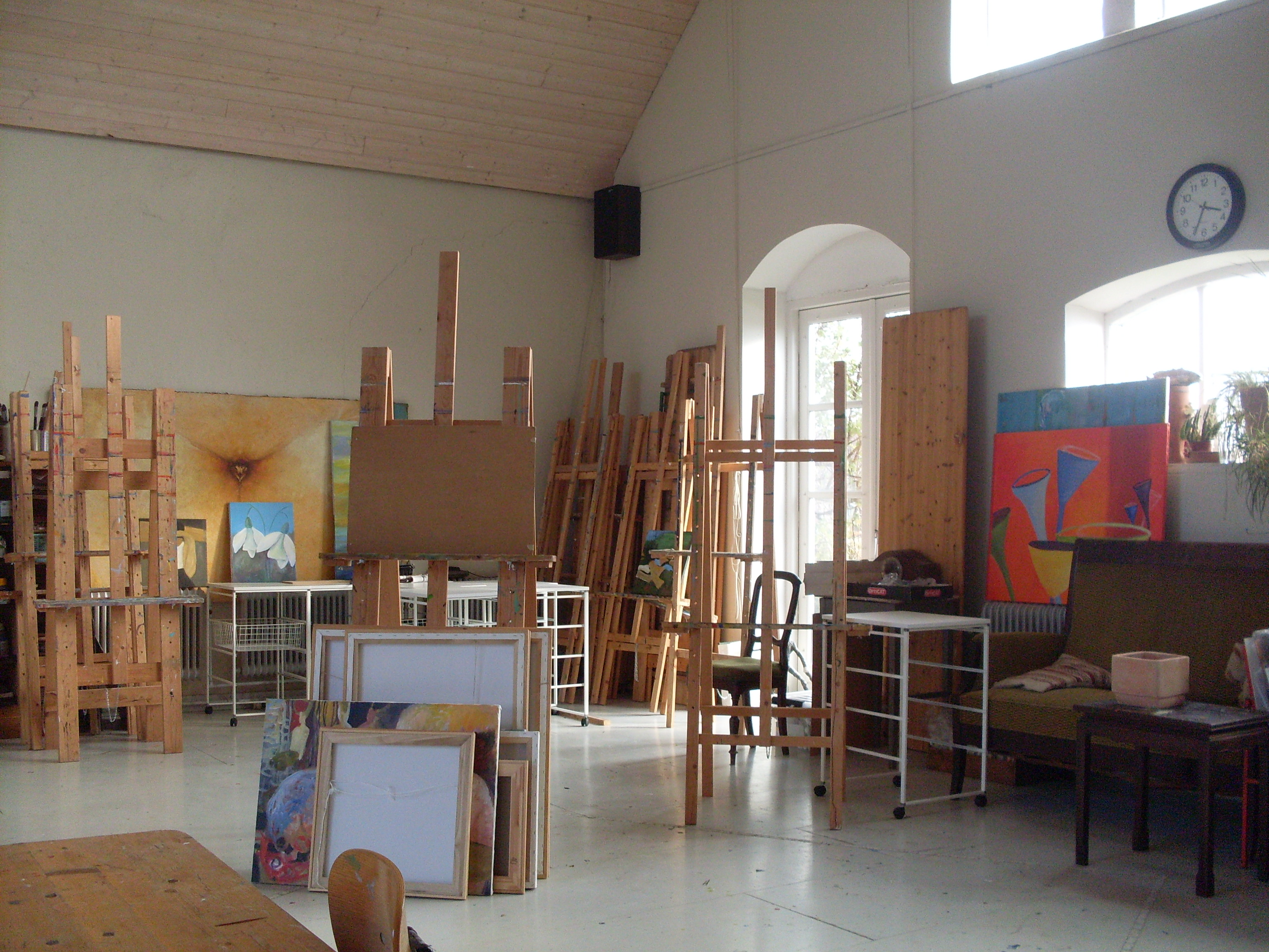 kragekær kunstskole salen