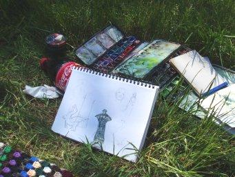 lille akvarelhygge Mai-Britt Schultz